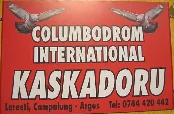 Columbodromul international Kaskadoru - Campulung, AG, Romania